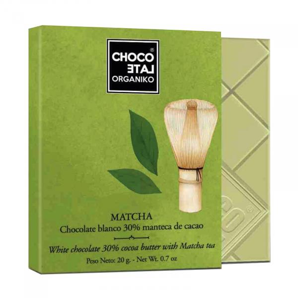 Set ciocolata organica blanco 80G [4]