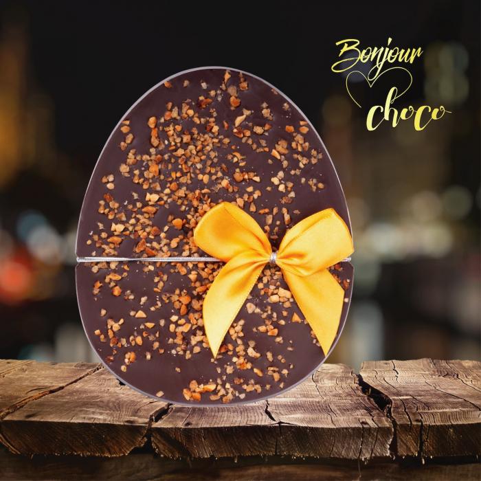 Ou ciocolata neagra si alune de padure caramelizate - Colectia Paste 2021 [1]