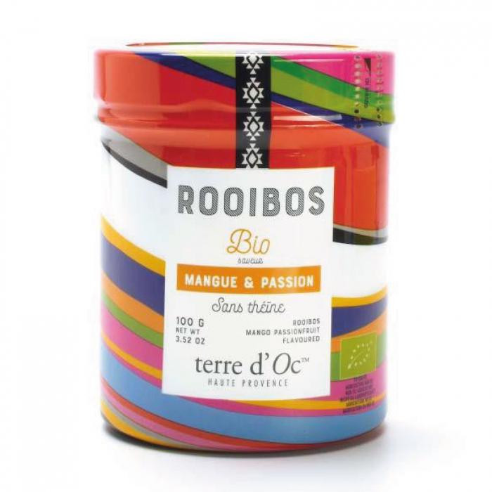 Rooibos organic cu mango si fructul pasiunii 100G [0]