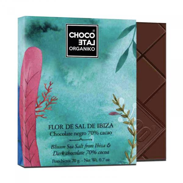 Set ciocolata organica negro 80G [1]