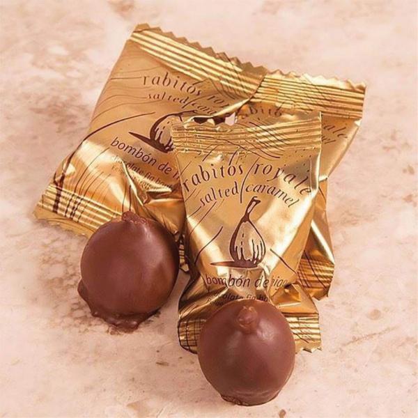 Smochine in ciocolata cu caramel sarat 95G [1]