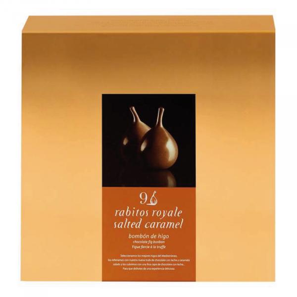 Smochine in ciocolata cu caramel sarat 9U [0]