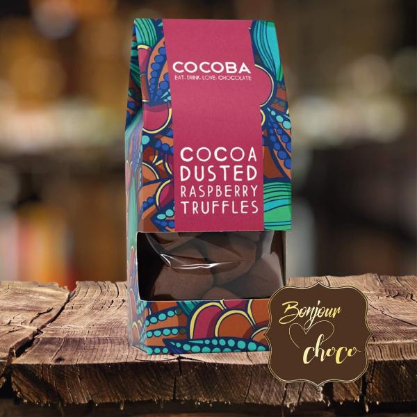 Trufe de ciocolata cu zmeura 175G [2]