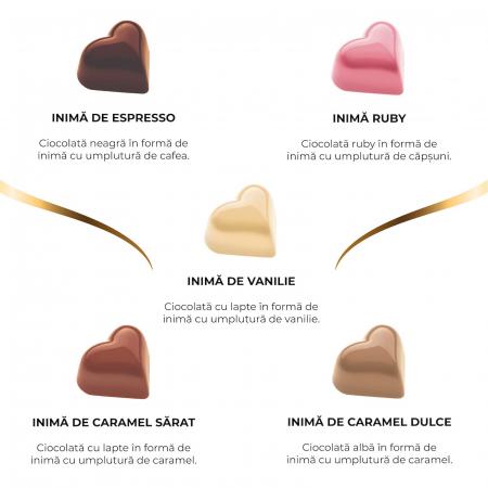 Asortiment 20 inimi de ciocolata cu umplutura [1]