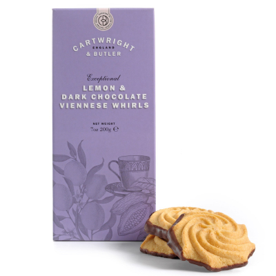 Biscuiti cu lamaie si ciocolata neagra in cutie carton 200G [1]