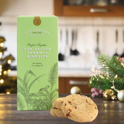 Biscuiti cu caramel sarat in cutie carton 200G [4]
