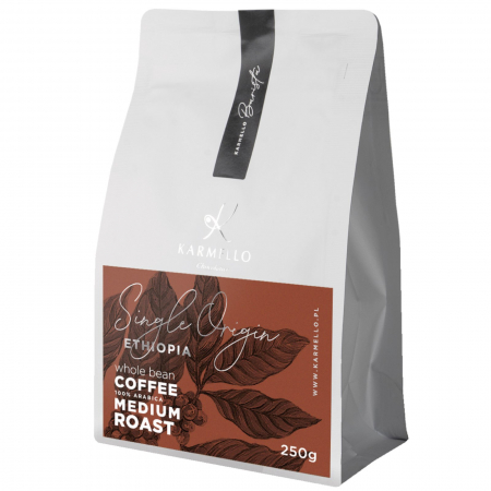 Cafea boabe Etiopia single origin 250G [0]