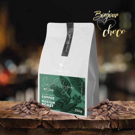Cafea boabe Brazilia single origin 250G [1]