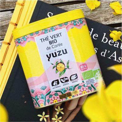 Ceai verde organic cu Yuzu 80G [2]