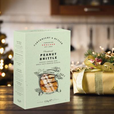 Crantanele de caramel sarat cu alune in cutie carton 150G [2]
