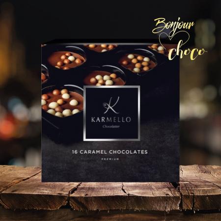 Asortiment premium 16 bomboane de ciocolata cu caramel [1]