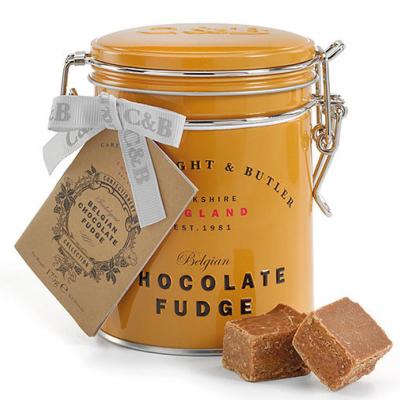 Fudge cu ciocolata belgiana in cutie metalica 175G [1]