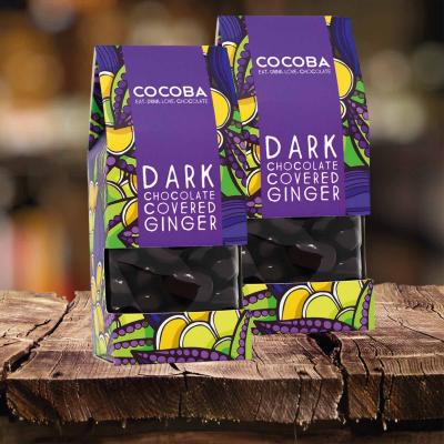 Ghimbir învelit în ciocolată neagră 175G [3]