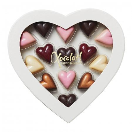 Heart Box - Inimi de ciocolata cu umplutura 130G [2]