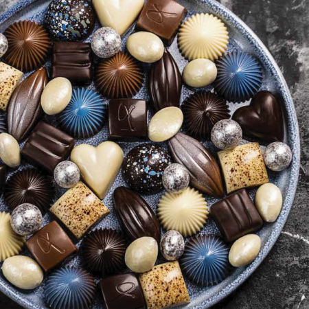 Limited Blue 9 - Selectie premium bomboane de ciocolata 80G [3]