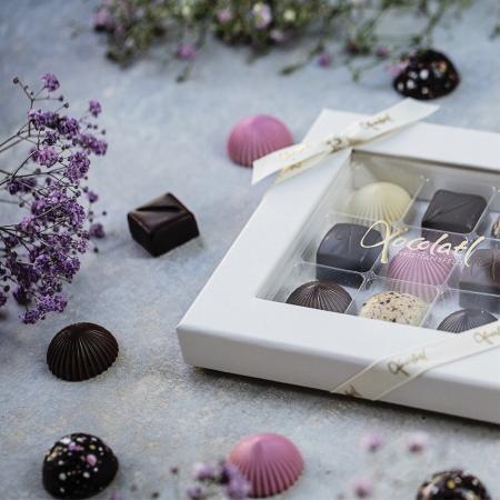 Limited Pink 9 - Selectie premium bomboane de ciocolata 80G [4]