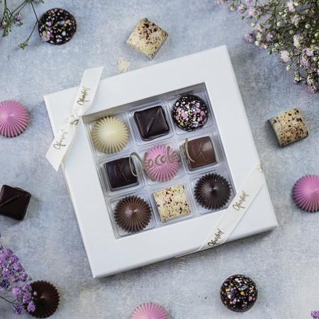 Limited Pink 9 - Selectie premium bomboane de ciocolata 80G [0]