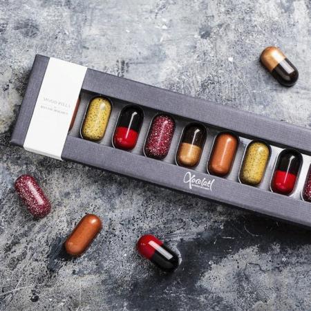 Mood Pills - Pastile de ciocolata pentru buna dispozitie 100G [3]