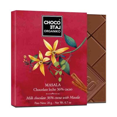 Set ciocolata organica blanco 80G [3]