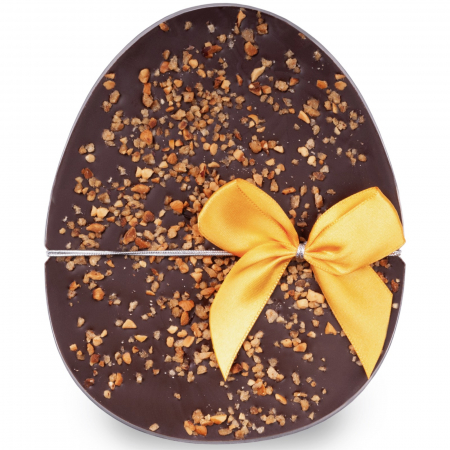 Ou ciocolata neagra si alune de padure caramelizate - Colectia Paste 2021 [0]