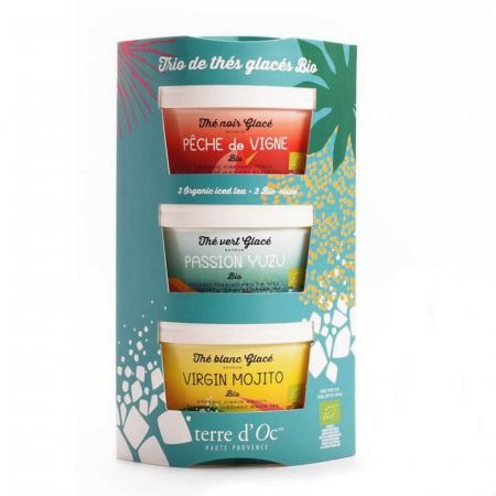 Set cadou 3 ceaiuri organice de vara 105G [0]