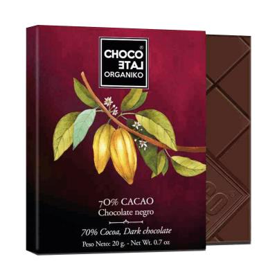 Set ciocolata organica negro 80G [2]