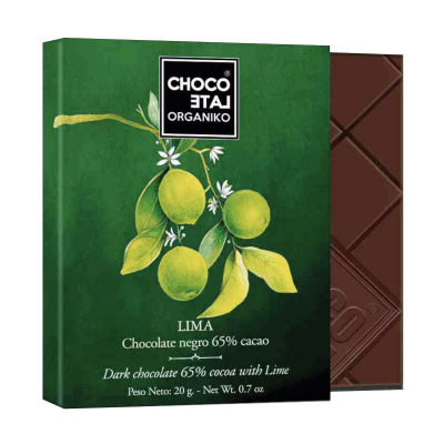 Set ciocolata organica negro 80G [4]