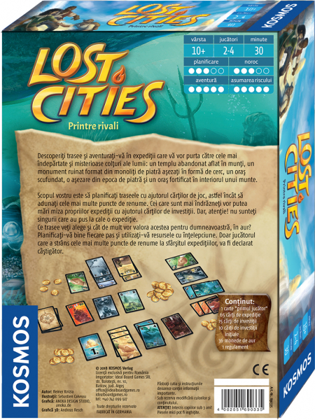 LOST CITIES - Printre rivali 1