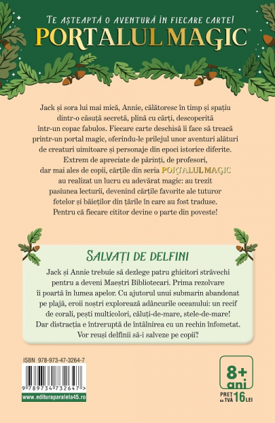 SALVATI DE DELFINI. PORTALUL MAGIC NR. 9. ED. 2 1