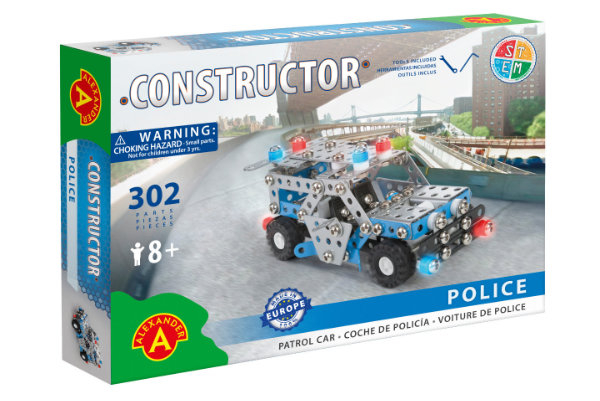 Set constructie - Police Patrol Car - City Emergency 0