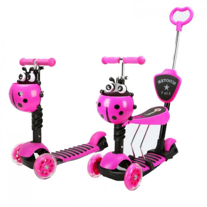 Trotineta evolutiva Scooter 5 in 1 pentru copii (4 culori disponibile) 1