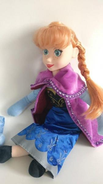 Set figurine plus muzicale Anna și Elsa (30 cm) 1