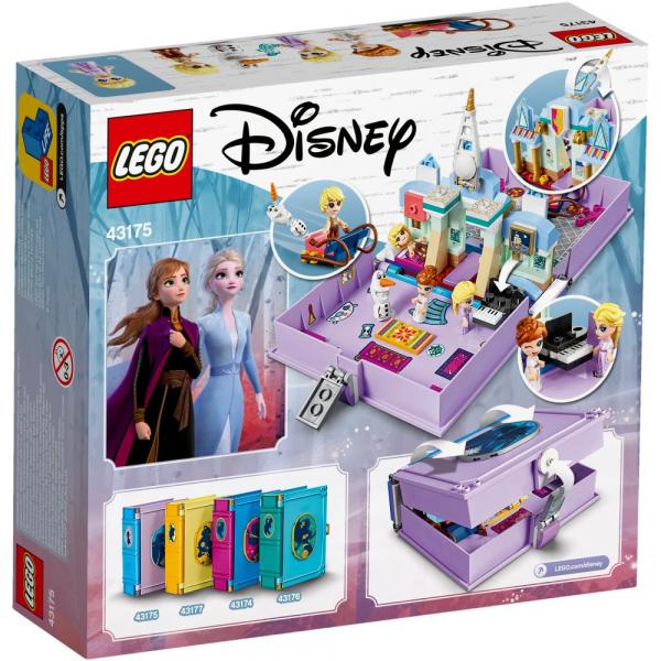 LEGO Disney Princess - Aventuri din cartea de povesti cu Anna si Elsa 43175 1