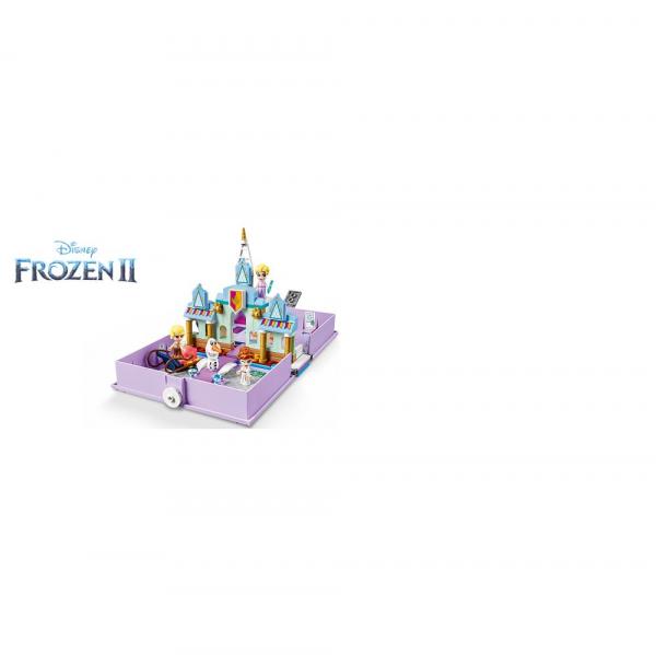 LEGO Disney Princess - Aventuri din cartea de povesti cu Anna si Elsa 43175 2