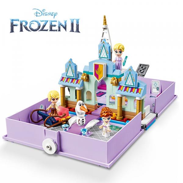 LEGO Disney Princess - Aventuri din cartea de povesti cu Anna si Elsa 43175 5