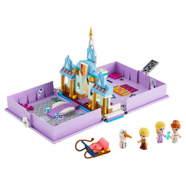 LEGO Disney Princess - Aventuri din cartea de povesti cu Anna si Elsa 43175 4