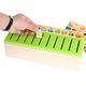 Joc interactiv și educativ de tip Montessori de asociere și sortare cu 88 piese, sortator din lemn 4