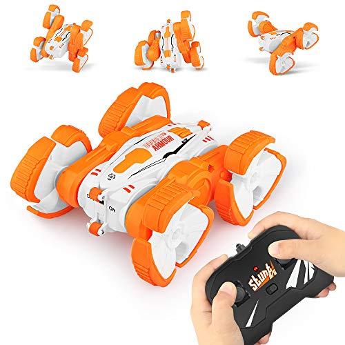 Mașină de jucărie rotativă de mare viteză, Mașină 360 grade, Stunt Double Armour [0]