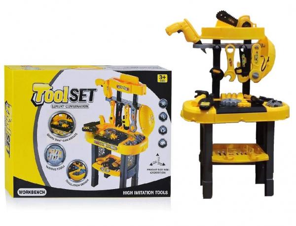 Set banc de lucru cu scule de jucărie pentru copii 1