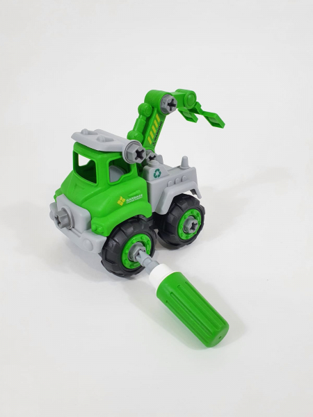 Mașină de gunoi, de construit DIY 3