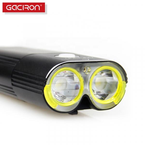 Far LED Gaciron V9D-1600, 1600 Lumeni, Baterie Reincarcabila 5000 mah, Rezistenta la Apa IPX6, Negru [3]