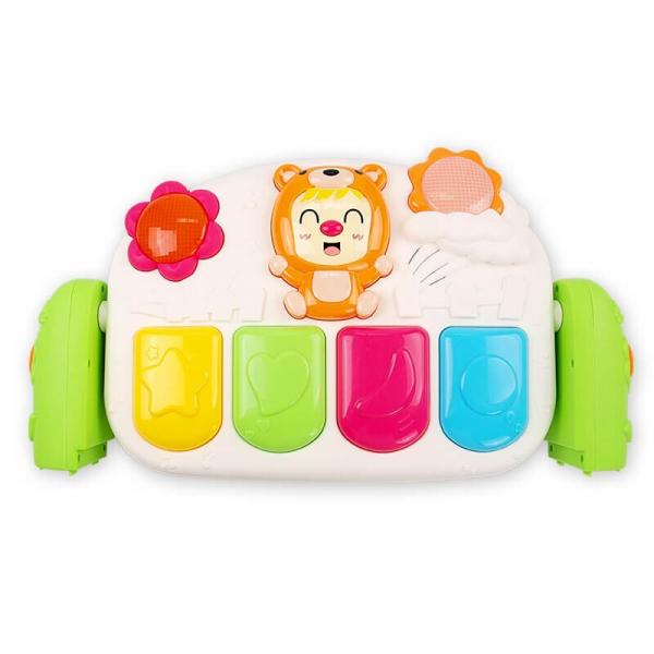 Păturică inteligentă pentru bebeluși cu activități Piano Fitness, 0+ ani 3