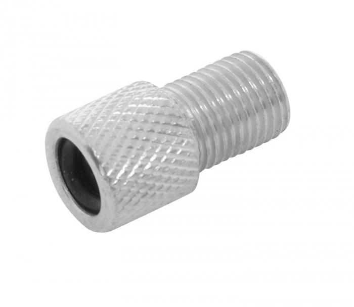 Adaptor valva Dunlop/Presta/Schrader aluminiu [0]
