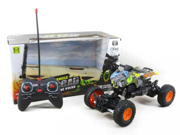 ATV de jucarie cu telecomanda Off-road Crawler Scara 1:18, Multicolor 0