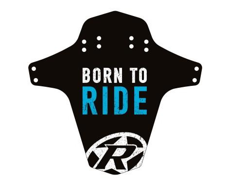 Aparatoare Reverse Born to Ride negru/alb/albastru [0]