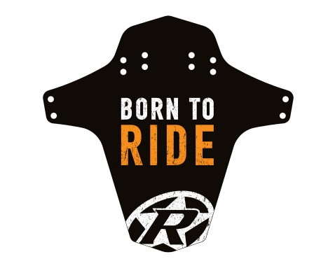 Aparatoare Reverse Born to Ride negru/alb/orange [0]