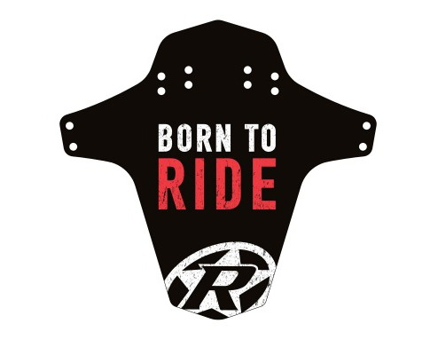 Aparatoare Reverse Born to Ride negru/alb/rosu [0]