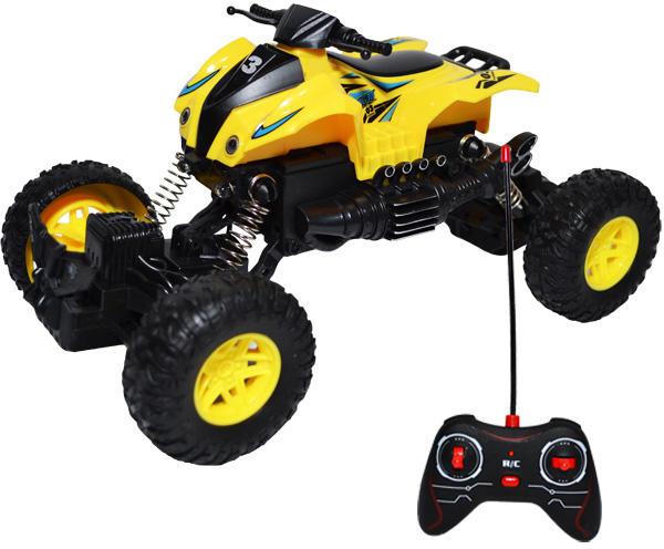 ATV de jucarie cu telecomanda Off-road Crawler Scara 1:18 Galben 0