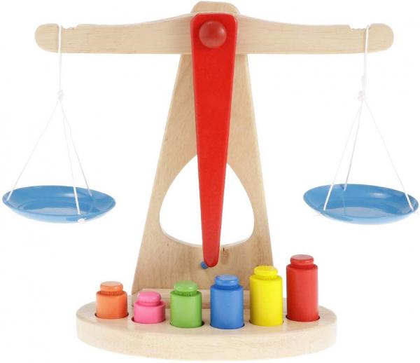 Jucărie balanță din lemn Montessori [0]