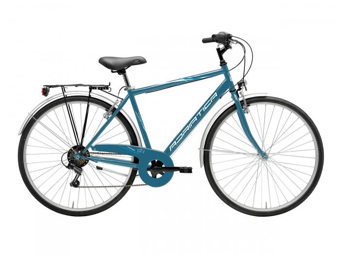 Bicicleta Adriatica Movie Man 6V 28 Petrol Blue 50 cm [0]